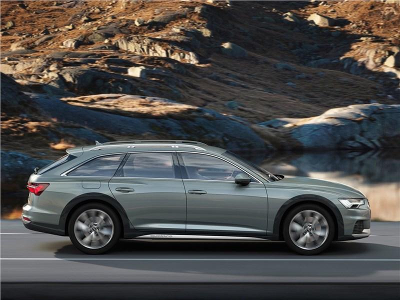 Audi A6 allroad quattro 2020 вид сбоку