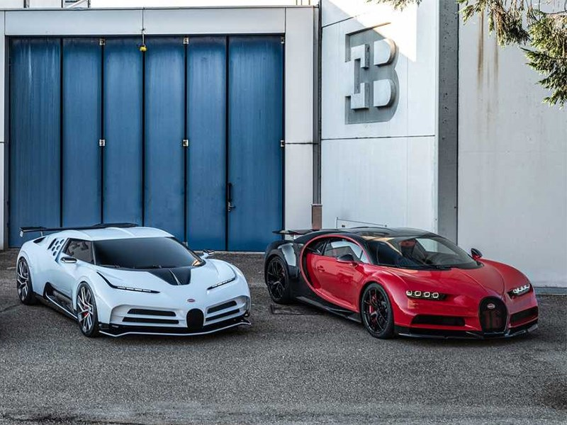 Bugatti все делает по своему