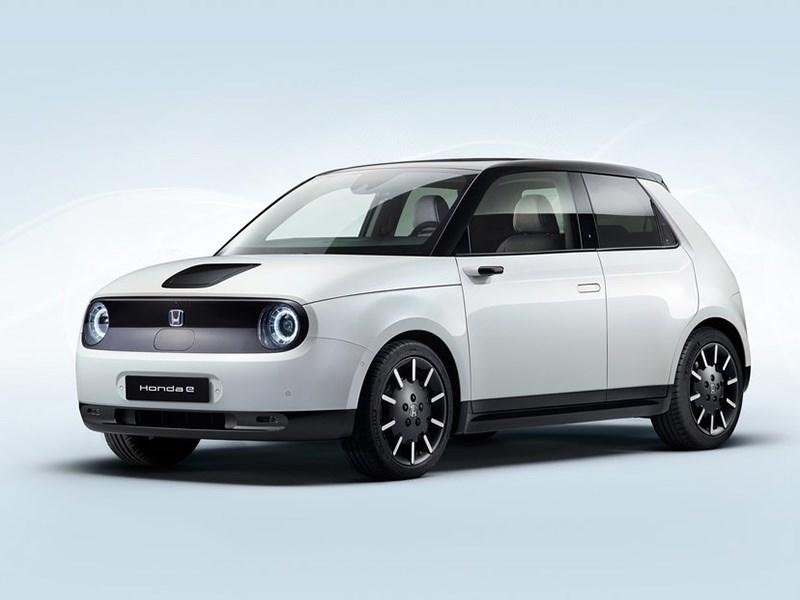 Honda E представлен официально