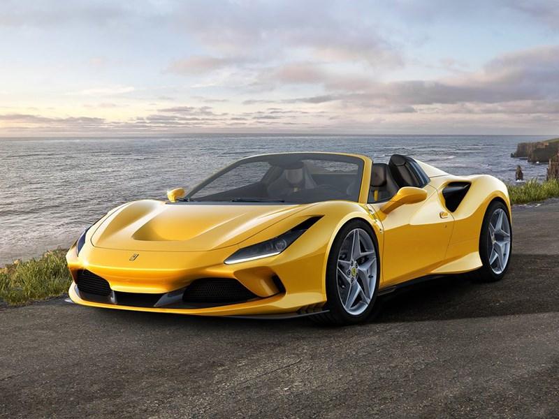 Представлен Ferrari F8 Spider
