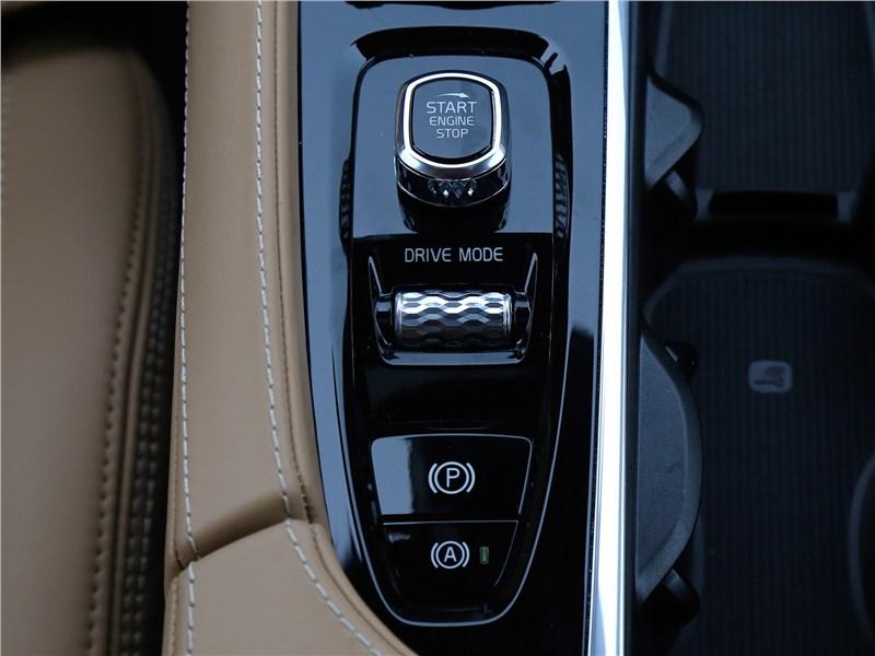Volvo XC90 2020 выбор режимов