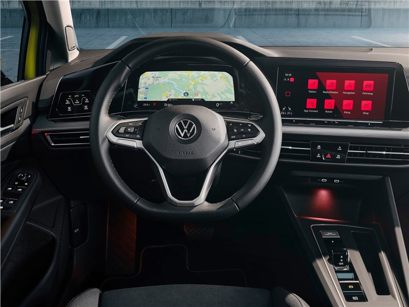 Volkswagen Golf 2020 салон