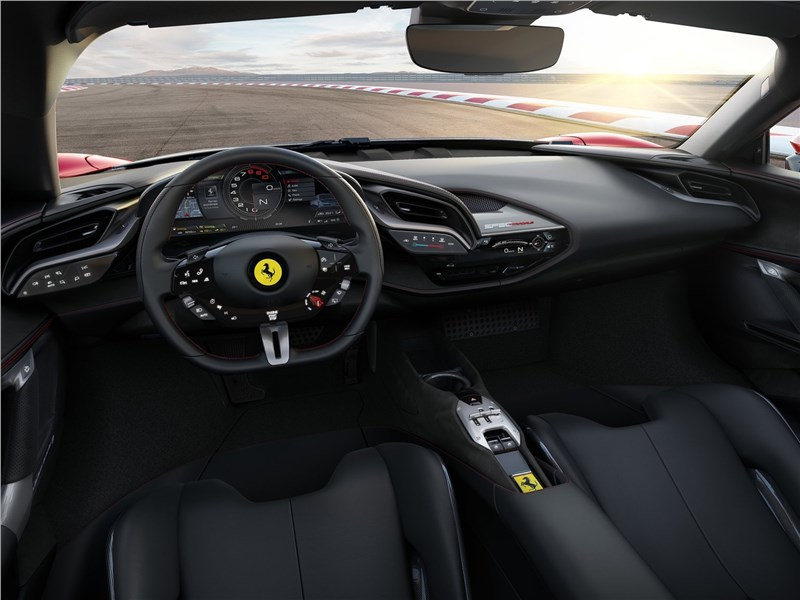 Ferrari SF90 Stradale 2020 салон