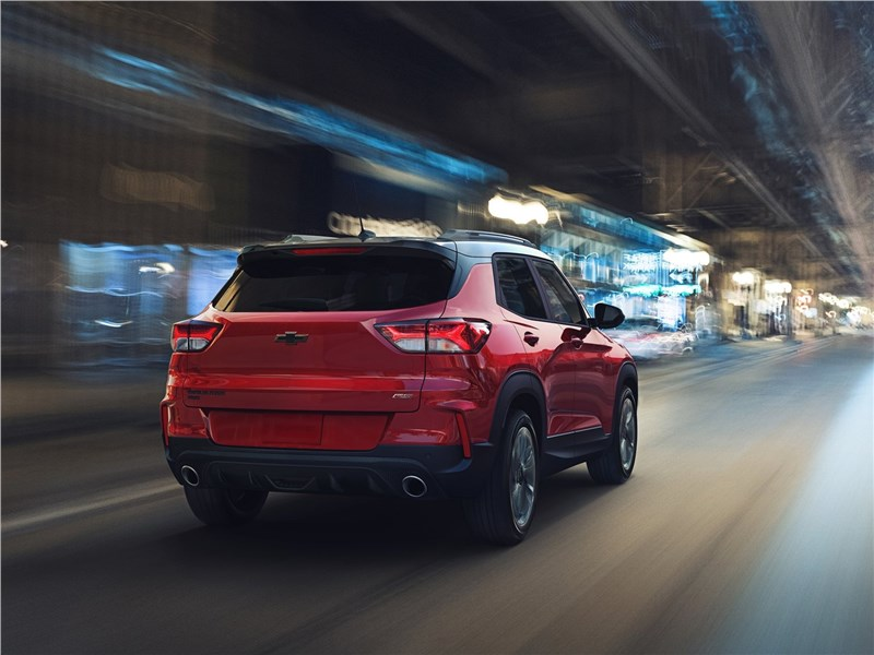 Chevrolet Trailblazer 2021 вид сзади