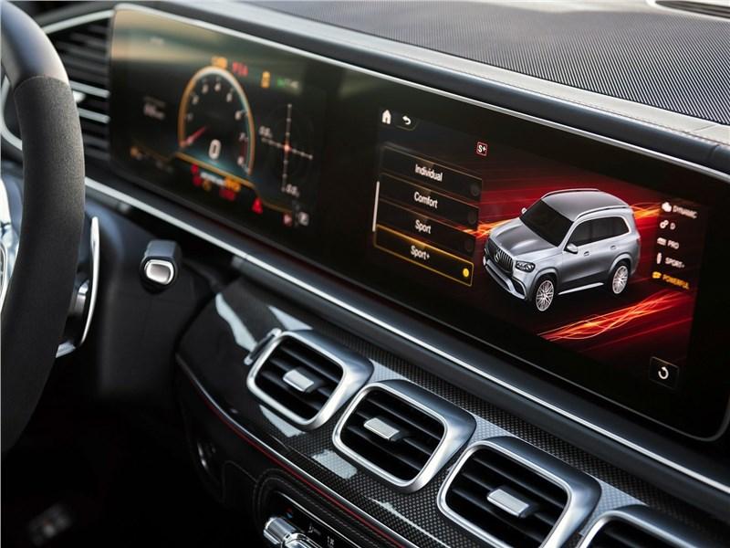 Mercedes-Benz GLS63 AMG 2021 панель