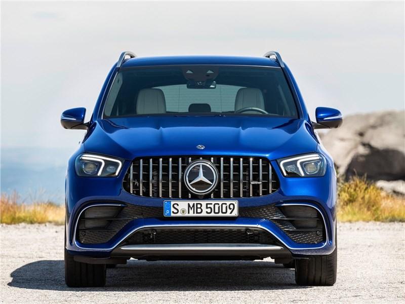 Mercedes-Benz GLE63 S AMG 2021 вид спереди