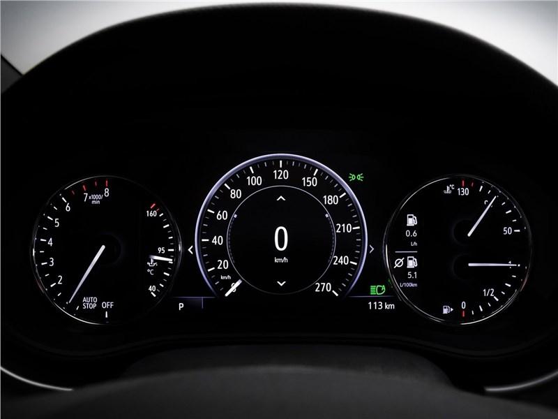 Opel Astra 2020 приборная панель
