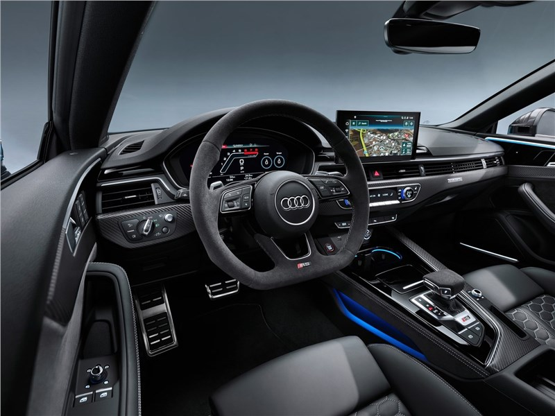 Audi RS5 Coupe 2020 салон