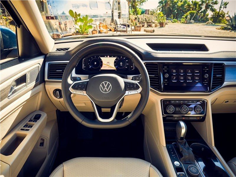 Volkswagen Atlas 2021 салон