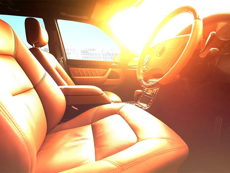 Паркуйте машину под солнцем. Дезинфекция!