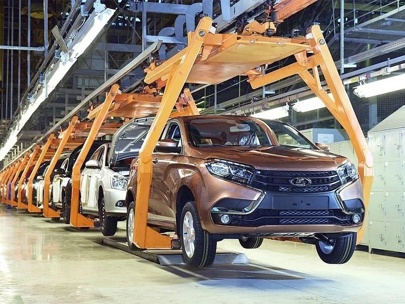 Автомобильное производство рухнуло