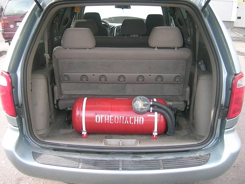 Правительство покроет расходы при переводе машины с бензина на метан