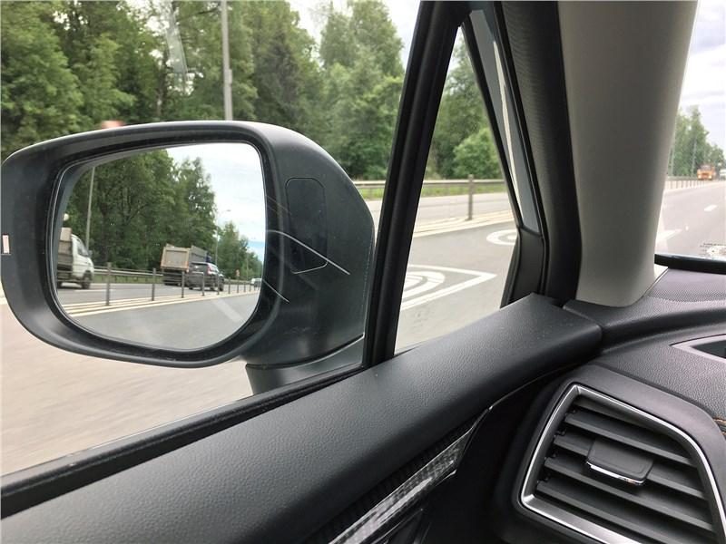 Subaru XV 2018 боковое зеркало