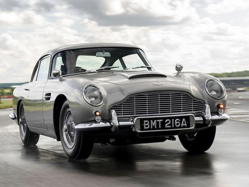Aston Martin выпустил купе DB5 как у Джеймса Бонда