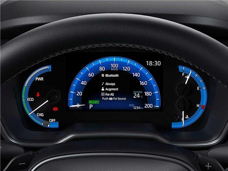 Toyota Corolla Cross (2021) приборная панель
