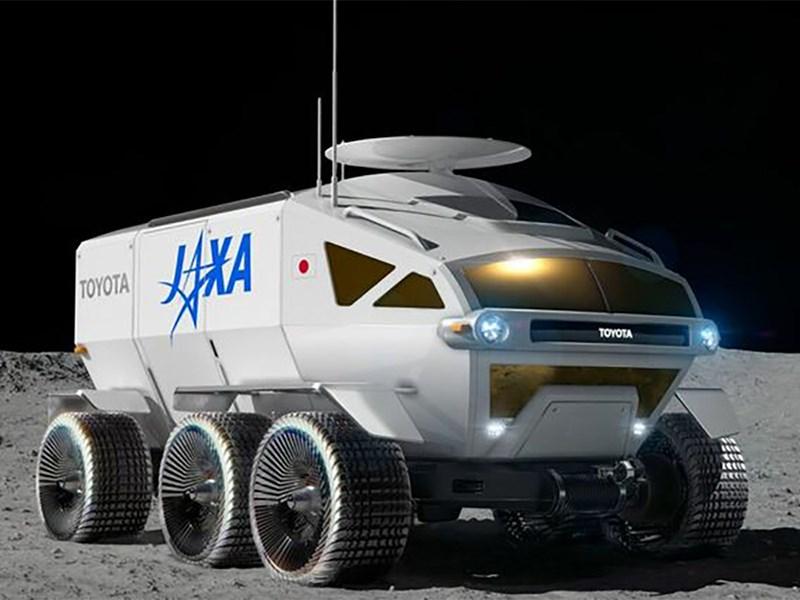 Компания Toyota придумала название для лунохода