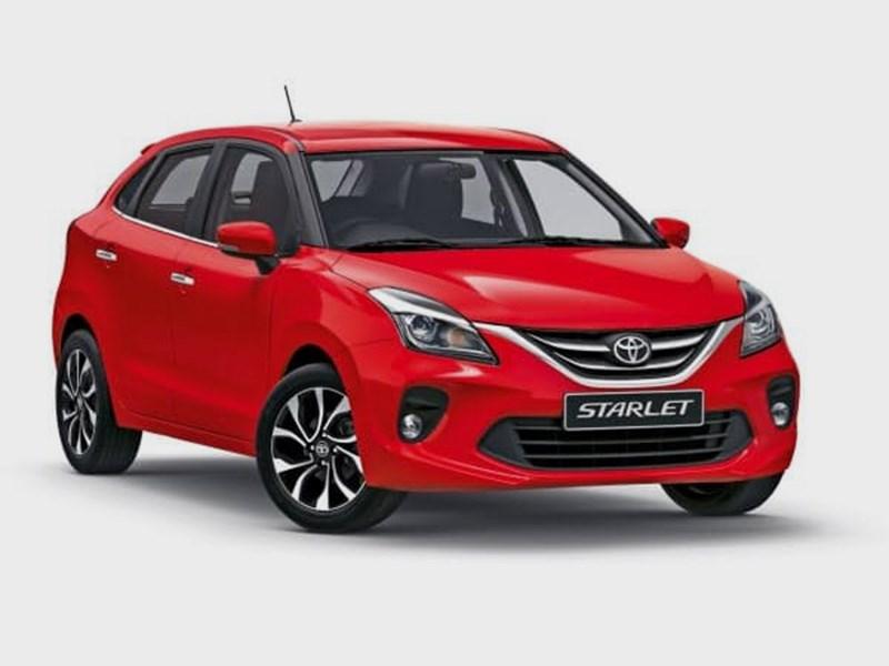 В гамму Toyota вернулась модель Starlet