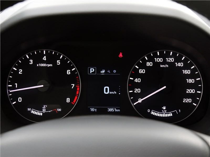 Hyundai Creta 2020 приборная панель