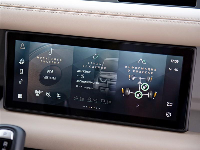 Land Rover Defender 110 2020 монитор