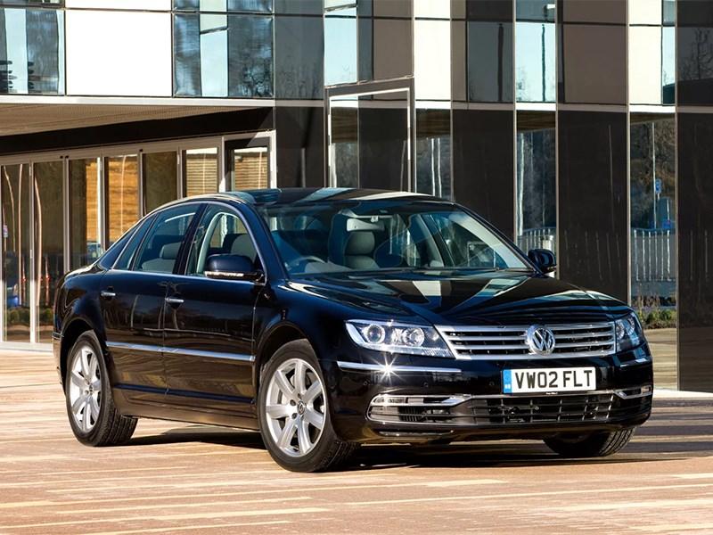 В России отзывают Volkswagen Phaeton из-за отваливающейся крыши