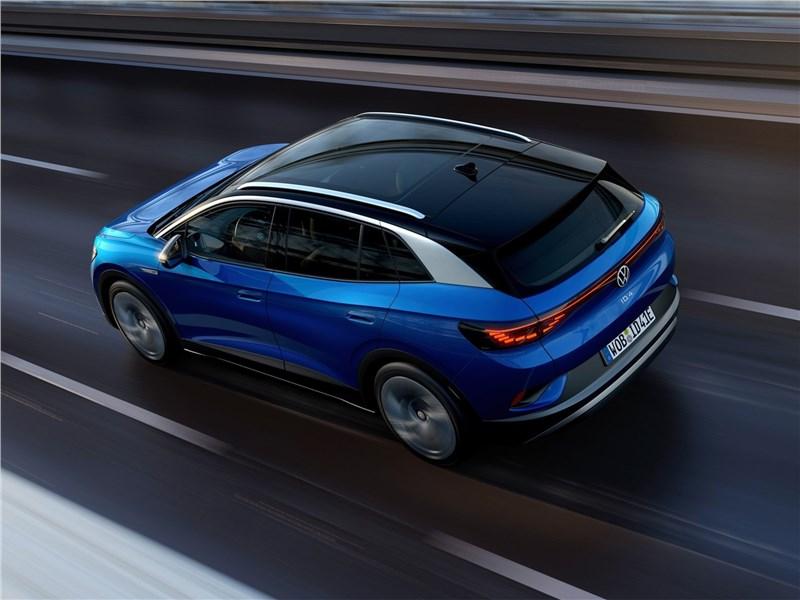 Volkswagen ID.4 (2021) вид сзади сверху