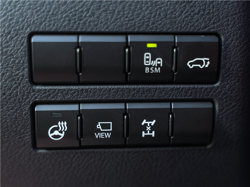 Lexus NX 2018 NX 300 АТ6 кнопки