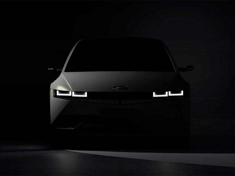 В Hyundai анонсировали электрокар IONIQ 5