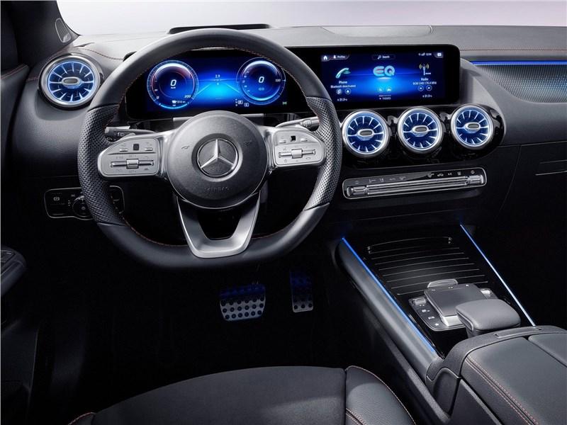 Mercedes-Benz EQA (2022) салон