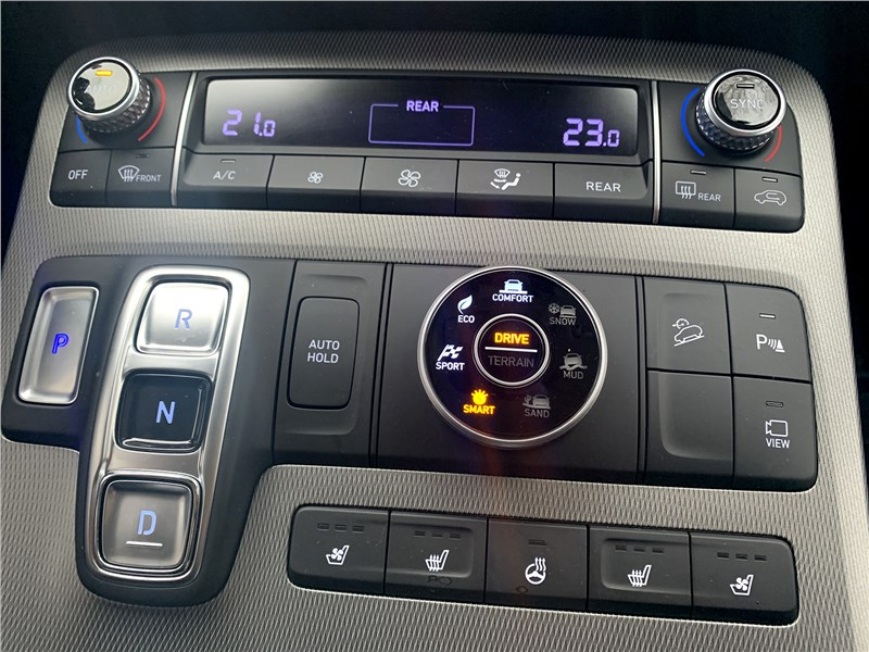 Hyundai Palisade 2020 центральная консоль