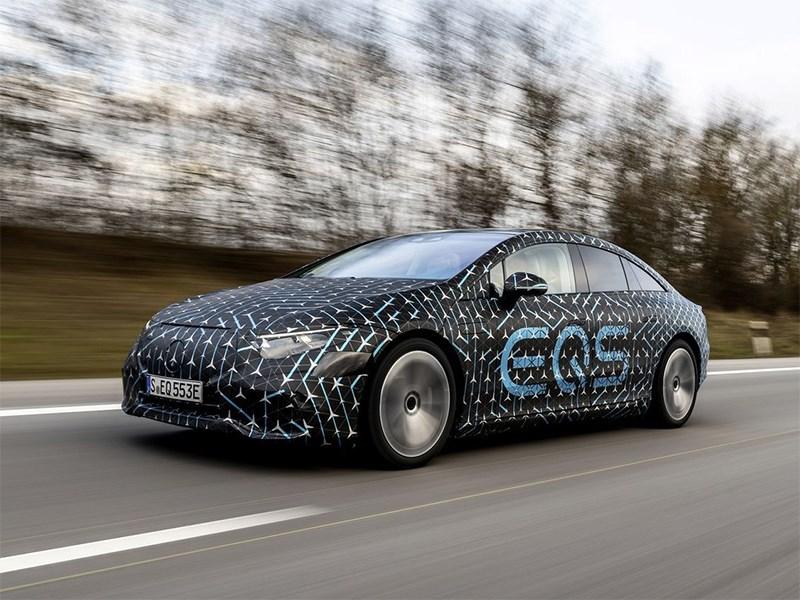 Mercedes Benz EQS сможет похвастаться уникальной аэродинамикой