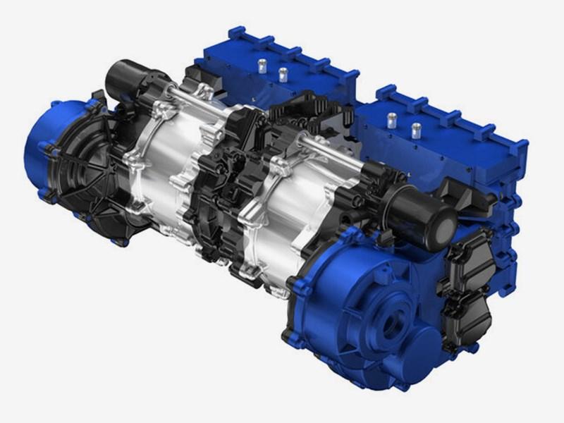 Yamaha представила двигатель для электромобилей