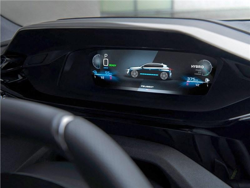 Peugeot 308 (2022) приборная панель