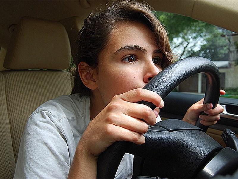 Как ведут себя на дороге водители-новички?