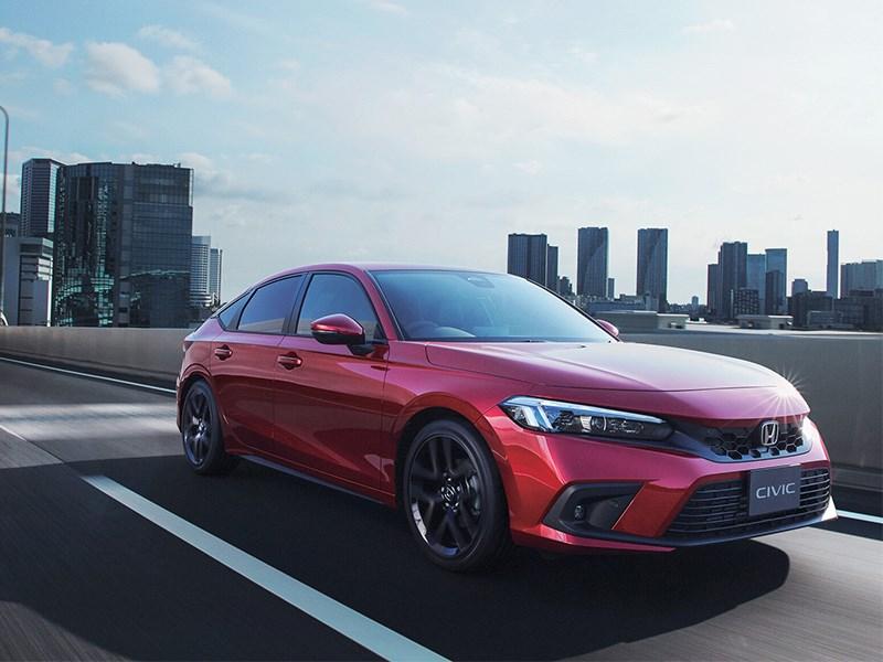 Honda представила Civic для внутреннего рынка Японии
