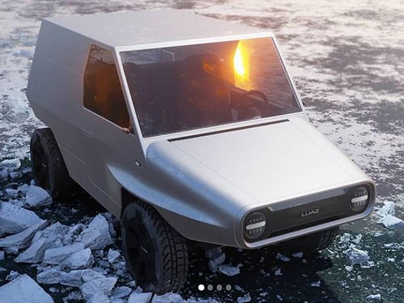 Отечественный дизайнер представил концепт нового ЛуАЗ