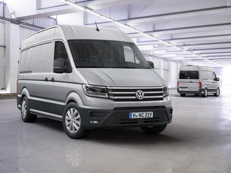 Volkswagen привезет новый Crafter на российский рынок