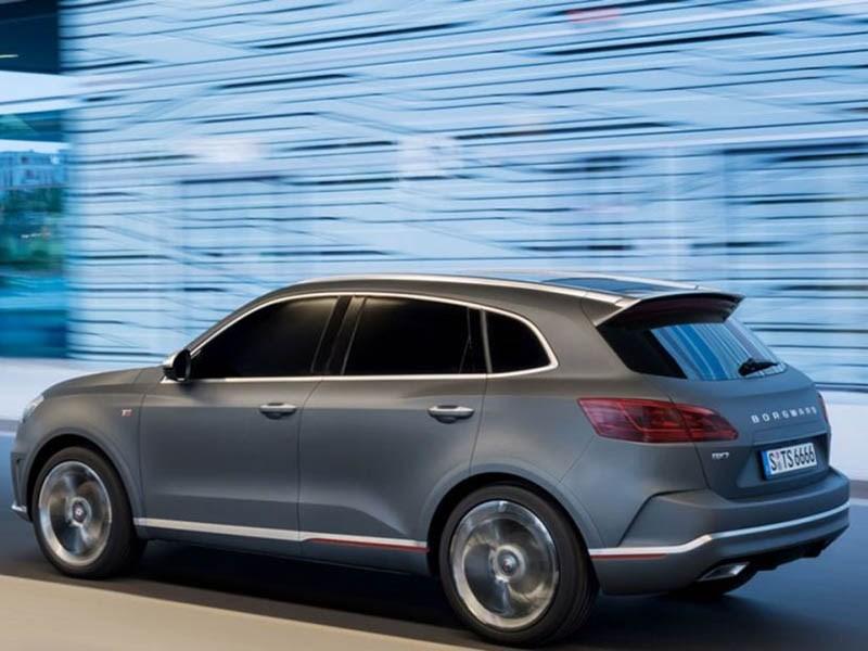 Немецко-китайская марка Borgward приедет в РФ в предстоящем году