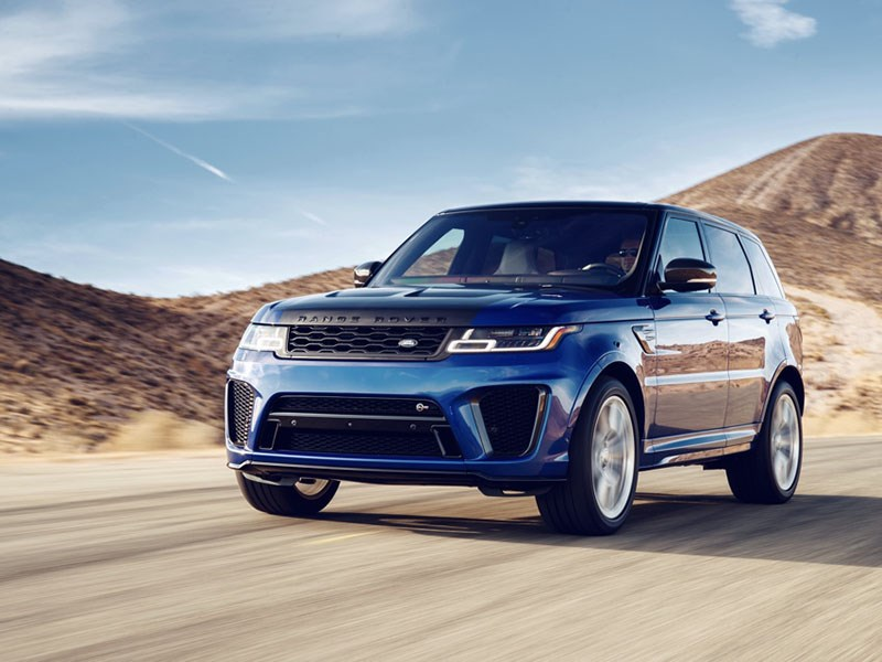 Range Rover работает над созданием модели Sport вверсии SVR
