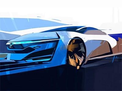 Honda покажет в Лос-Анджелесе концепт на водородном топливе