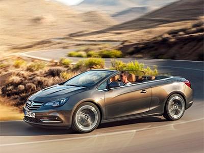 «Заряженный» кабриолет Opel Cascada Turbo вышел на европейский рынок