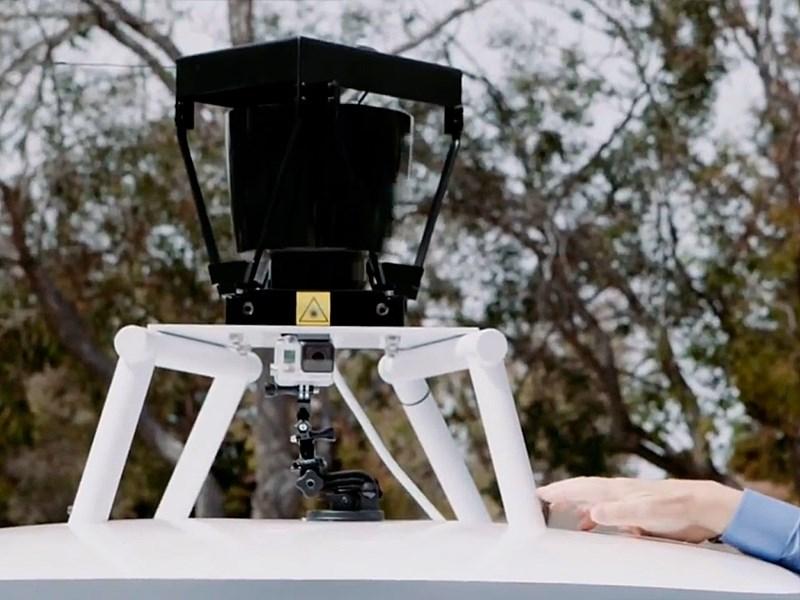 Беспилотник от Google радар