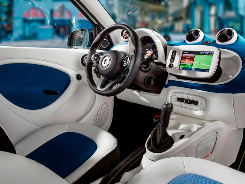Smart Forfour 2015 салон