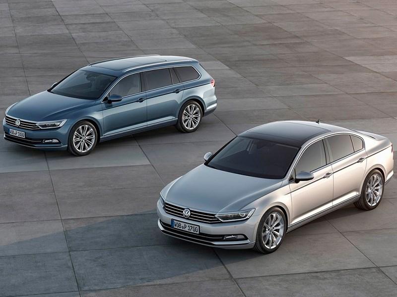 Volkswagen Passat 2015 Модный костюм