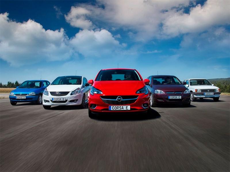 Модели Opel Corsa от A до E