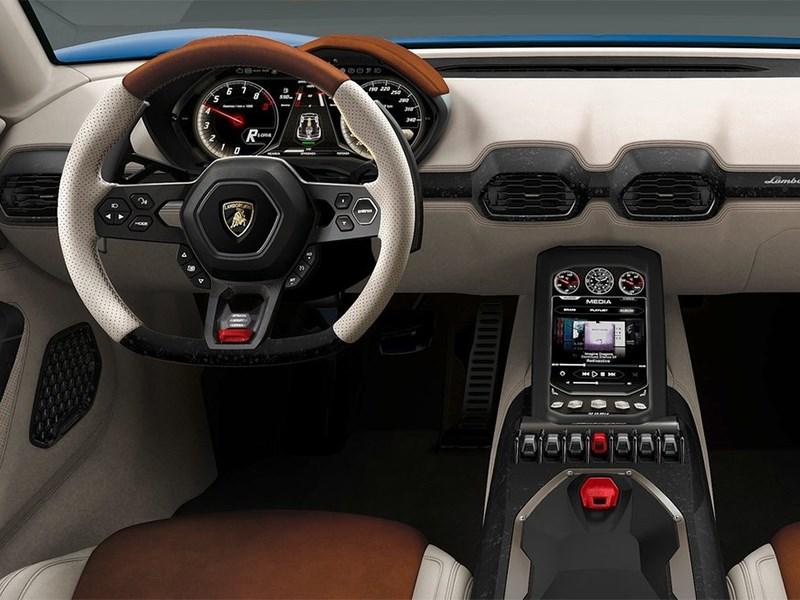 Lamborghini Asterion LPI 910-4 concept 2014 водительское место