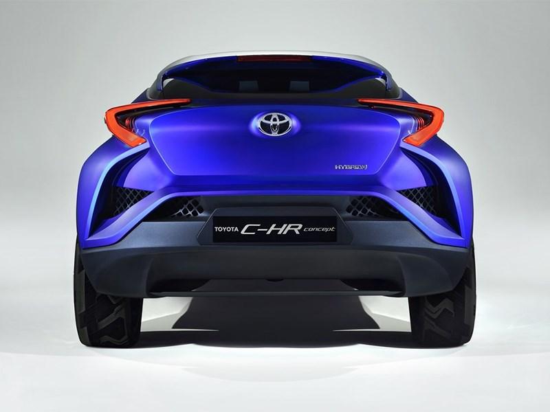 Toyota CH-R concept 2014 вид сзади