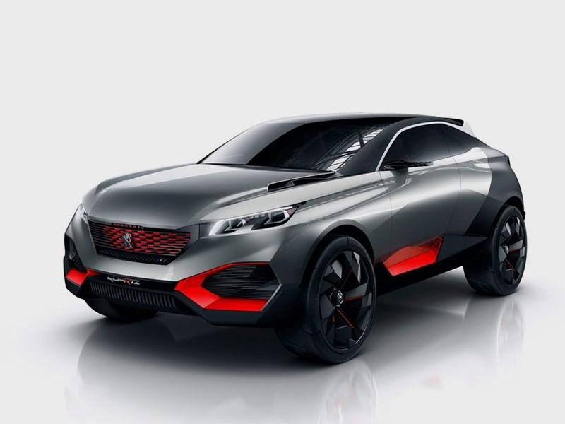 Peugeot Quartz Concept 2014 Мастер интриги
