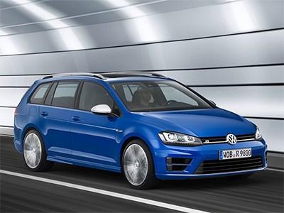 Volkswagen показал первый компактный универсал в линейке Golf R