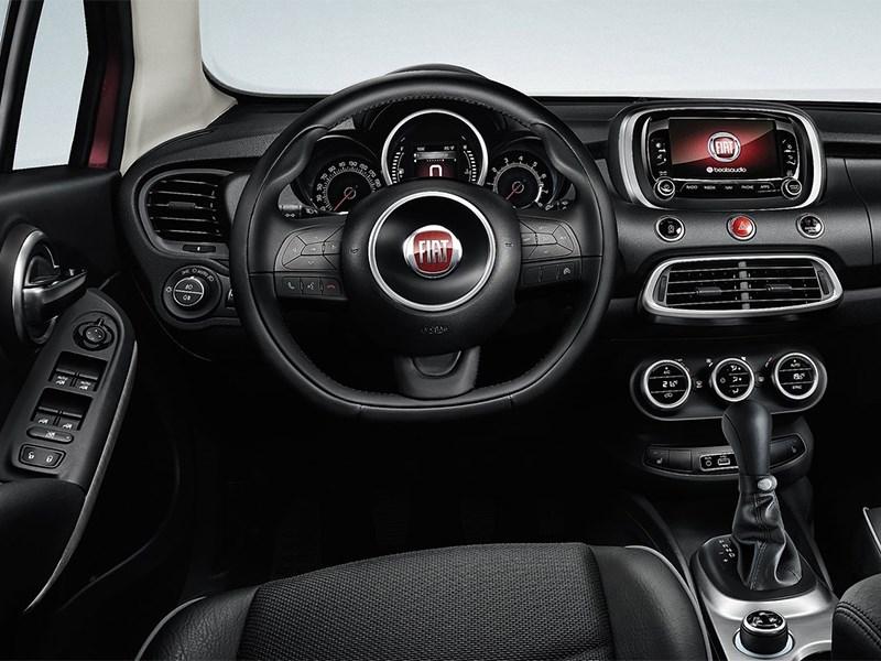 Fiat 500X 2015 водительское место