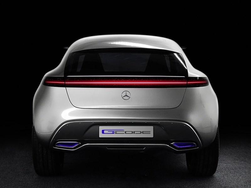 Mercedes-Benz G-Code concept 2014 вид сзади